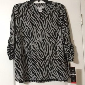 """New With Tags """"Rebecca Malone"""" Size Petite XL Top"""